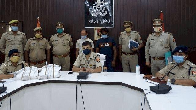 यूपी: बरेली पुलिस ने चार करोड़ की स्मैक के साथ दो तस्कर को दबोचा, दिल्ली पहुंचाने की थी तैयारी