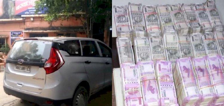 धनबाद: गया से पश्चिम बंगाल जा रहे चार लोगों को 91 लाख रुपये व रिवाल्वर के साथ इनकम टैक्स डिपार्टमेंट ने पकड़ा
