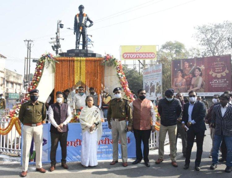 धनबाद : एसपी शहीद रणधीर प्रसाद वर्मा को पुण्यतिथि पर दी गयी भावपूर्ण श्रद्धांजलि