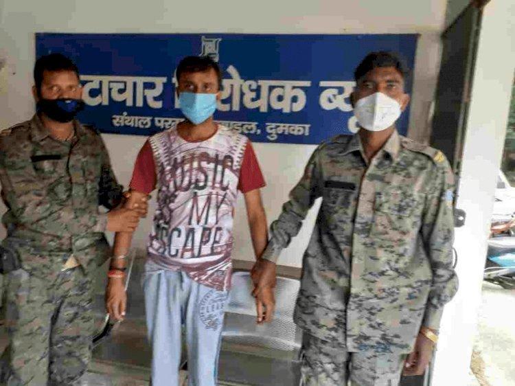 झारखंड: ACB ने पाकुड़ में मनरेगा के जूनियर इंजीनियर को 30 हजार रुपये घुस लेते दबोचा
