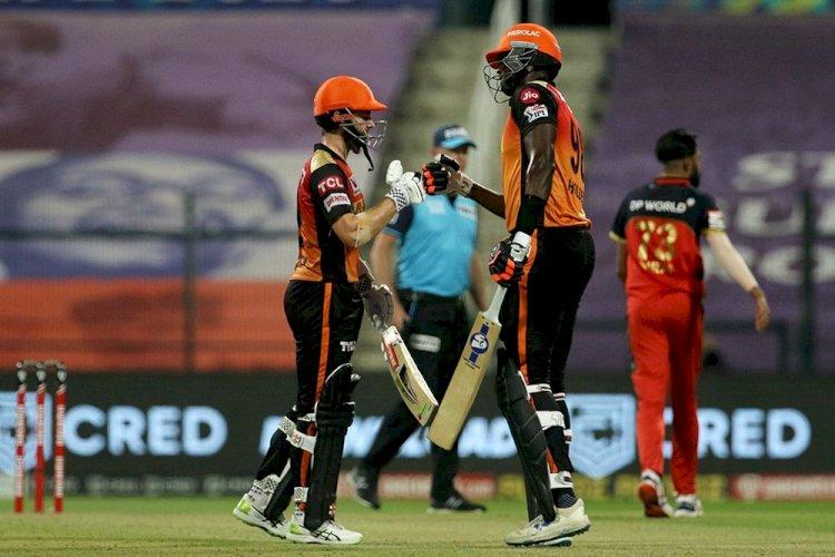 IPL 2020 SRH vs RCB: हैदराबाद ने बैंगलोर को छह विकेट हराकर जीता एलिमिनेटर मैच, फाइनल से बाहर हुई RCB