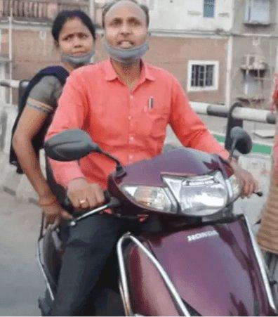 बिहार: मुजफ्फरपुर में बाईकर्स क्रिमिनलों से भिड़ गई कारोबारी की वाइफ, पिस्टल छीन ली, पिस्टल छोड़कर भागे बदमाश