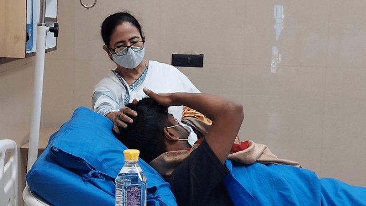 त्रिपुरा में एमपी अभिषेक बनर्जी पर हमला, ममता का आरोप- अमित शाह ने कराया भतीजे पर हमला